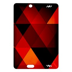 Abstract Triangle Wallpaper Amazon Kindle Fire Hd (2013) Hardshell Case by BangZart
