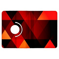 Abstract Triangle Wallpaper Kindle Fire Hdx Flip 360 Case by BangZart