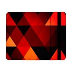 Abstract Triangle Wallpaper Samsung Galaxy Tab Pro 8 4  Flip Case