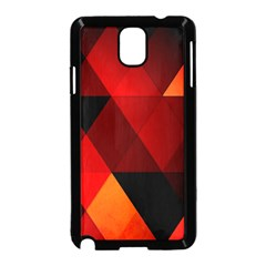 Abstract Triangle Wallpaper Samsung Galaxy Note 3 Neo Hardshell Case (black) by BangZart