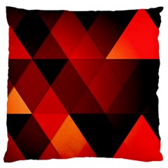 Abstract Triangle Wallpaper Standard Flano Cushion Case (two Sides) by BangZart