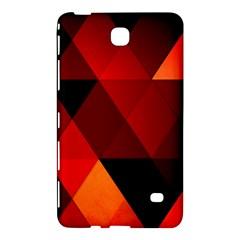 Abstract Triangle Wallpaper Samsung Galaxy Tab 4 (8 ) Hardshell Case