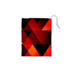 Abstract Triangle Wallpaper Drawstring Pouches (xs)  by BangZart