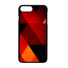 Abstract Triangle Wallpaper Apple Iphone 7 Plus Seamless Case (black)