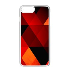 Abstract Triangle Wallpaper Apple Iphone 7 Plus White Seamless Case by BangZart