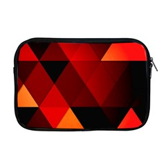 Abstract Triangle Wallpaper Apple Macbook Pro 17  Zipper Case by BangZart