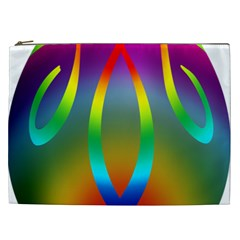 Colorful Easter Egg Cosmetic Bag (xxl)  by BangZart