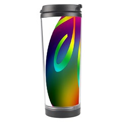 Colorful Easter Egg Travel Tumbler by BangZart