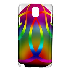 Colorful Easter Egg Samsung Galaxy Note 3 N9005 Hardshell Case