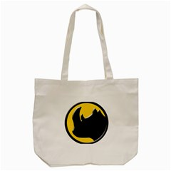 Black Rhino Logo Tote Bag (cream)