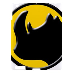 Black Rhino Logo Apple Ipad 3/4 Hardshell Case by BangZart
