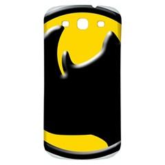 Black Rhino Logo Samsung Galaxy S3 S Iii Classic Hardshell Back Case by BangZart