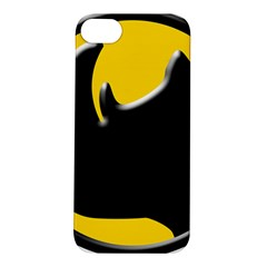 Black Rhino Logo Apple Iphone 5s/ Se Hardshell Case by BangZart