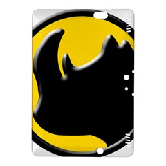 Black Rhino Logo Kindle Fire Hdx 8 9  Hardshell Case by BangZart