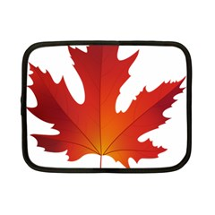 Autumn Maple Leaf Clip Art Netbook Case (small)  by BangZart