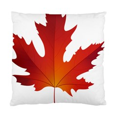 Autumn Maple Leaf Clip Art Standard Cushion Case (two Sides) by BangZart