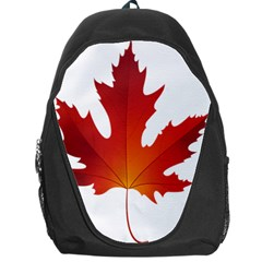 Autumn Maple Leaf Clip Art Backpack Bag by BangZart