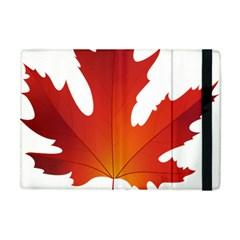 Autumn Maple Leaf Clip Art Apple Ipad Mini Flip Case by BangZart