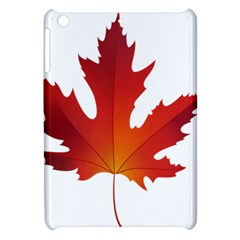 Autumn Maple Leaf Clip Art Apple Ipad Mini Hardshell Case by BangZart