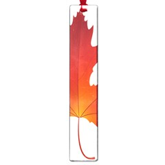 Autumn Maple Leaf Clip Art Large Book Marks by BangZart