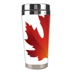 Autumn Maple Leaf Clip Art Stainless Steel Travel Tumblers