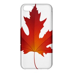 Autumn Maple Leaf Clip Art Apple Iphone 5c Hardshell Case by BangZart
