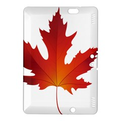 Autumn Maple Leaf Clip Art Kindle Fire Hdx 8 9  Hardshell Case by BangZart