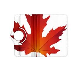 Autumn Maple Leaf Clip Art Kindle Fire Hd (2013) Flip 360 Case by BangZart
