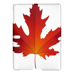 Autumn Maple Leaf Clip Art Samsung Galaxy Tab S (10 5 ) Hardshell Case  by BangZart