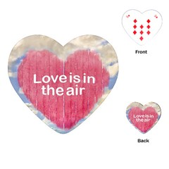 Love Concept Poster Design Playing Cards (heart)  by dflcprints