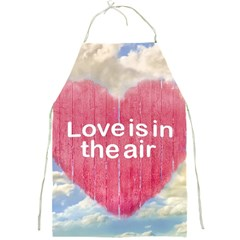 Love Concept Poster Design Full Print Aprons by dflcprints