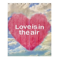 Love Concept Poster Design Shower Curtain 60  X 72  (medium)  by dflcprints