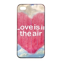 Love Concept Poster Design Apple Iphone 4/4s Seamless Case (black) by dflcprints