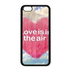 Love Concept Poster Design Apple Iphone 5c Seamless Case (black) by dflcprints