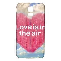 Love Concept Poster Design Samsung Galaxy S5 Back Case (white) by dflcprints