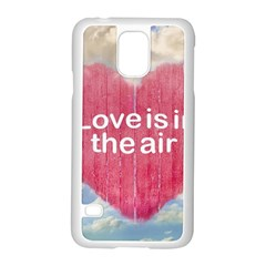 Love Concept Poster Design Samsung Galaxy S5 Case (white) by dflcprints