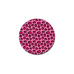 Cute Pink Animal Pattern Background Golf Ball Marker (4 Pack) by TastefulDesigns