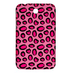 Cute Pink Animal Pattern Background Samsung Galaxy Tab 3 (7 ) P3200 Hardshell Case  by TastefulDesigns