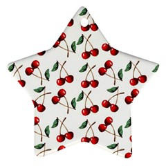 Cherry Red Ornament (star) by Kathrinlegg