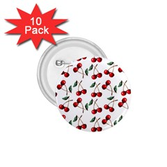 Cherry Red 1 75  Buttons (10 Pack) by Kathrinlegg