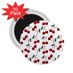 Cherry Red 2 25  Magnets (10 Pack)  by Kathrinlegg