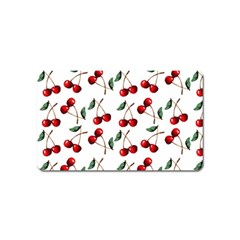 Cherry Red Magnet (name Card) by Kathrinlegg