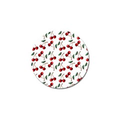 Cherry Red Golf Ball Marker (10 Pack) by Kathrinlegg