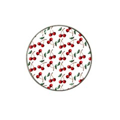 Cherry Red Hat Clip Ball Marker (10 Pack) by Kathrinlegg