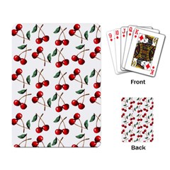 Cherry Red Playing Card by Kathrinlegg