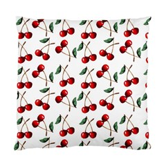 Cherry Red Standard Cushion Case (one Side) by Kathrinlegg