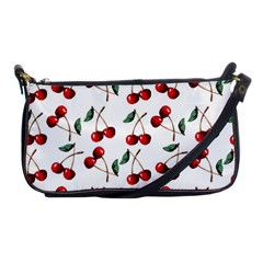Cherry Red Shoulder Clutch Bags by Kathrinlegg