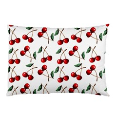 Cherry Red Pillow Case (two Sides) by Kathrinlegg