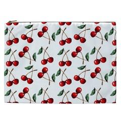 Cherry Red Cosmetic Bag (xxl)  by Kathrinlegg