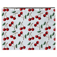 Cherry Red Cosmetic Bag (xxxl)  by Kathrinlegg